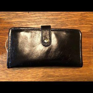 HoBo Black Leather Wallet